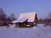Белорусская баня на дровах